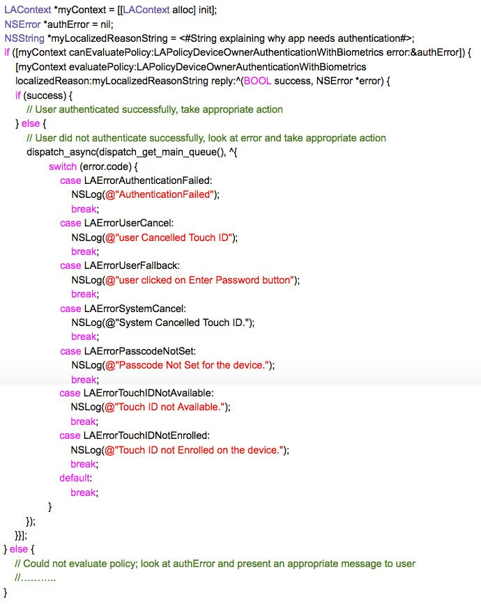 Objective-C-code-snippet