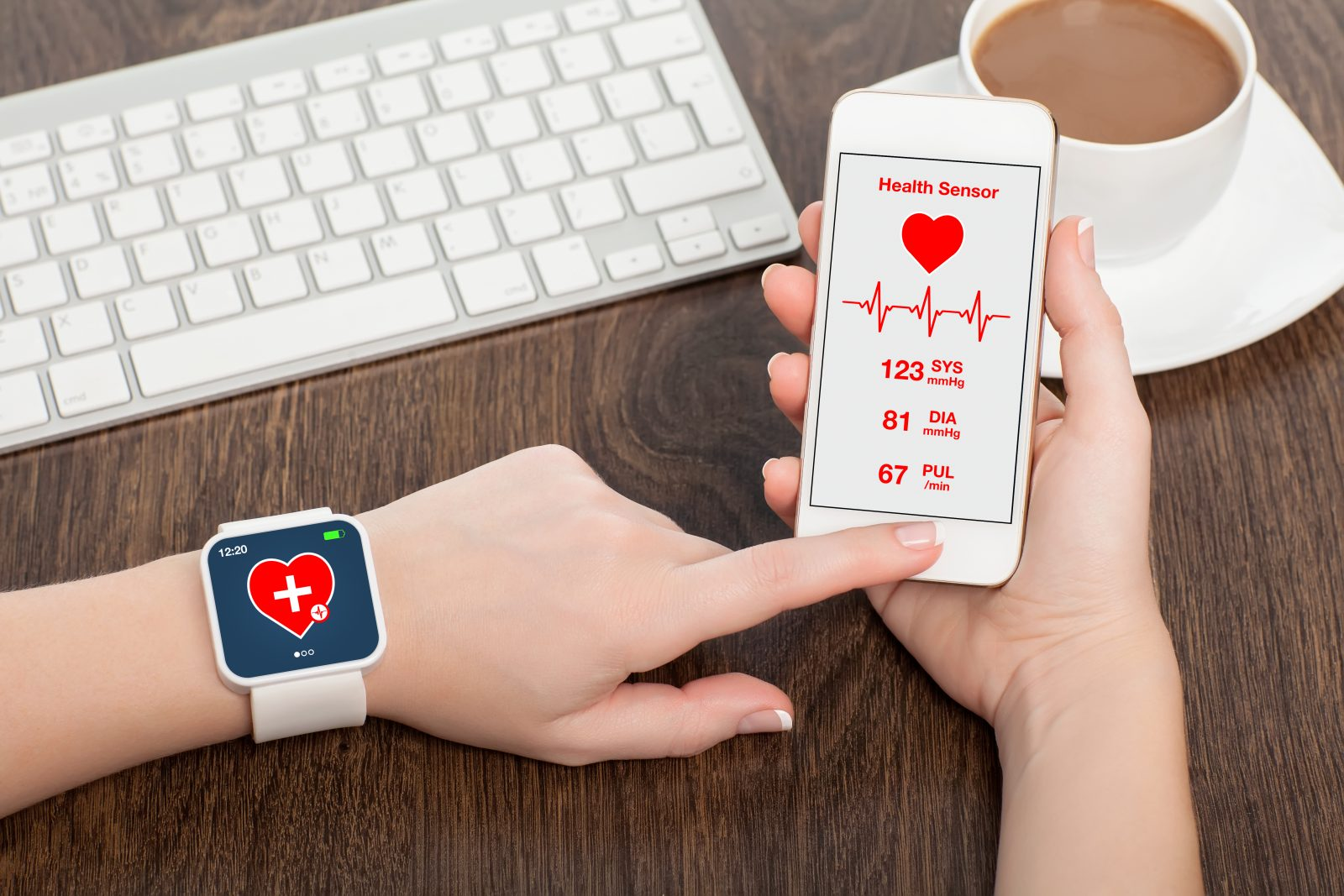 Wearable health and iPhone