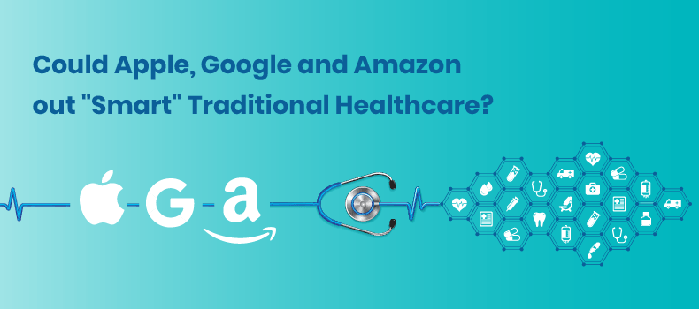 Apple, Google & Amazon's Entry into Healthcare